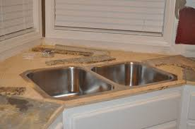 Ceramic Kitchen Sinks Granite Countertop How To Install Sprayer In Kitchen Sink Wall