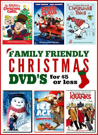 christmas list dvd updated family friendly christmas dvd s for 5 or less frugal