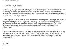 dental assistant cover letter samples urban planner cover letter