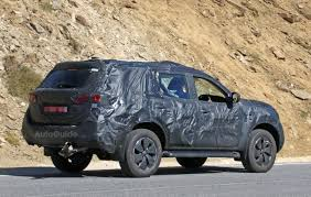 nissan suv 2016 nissan spied testing pickup truck based suv autoguide com news