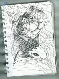 imagenes de pez koi a lapiz fish koi by gloou19 on deviantart