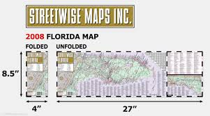 Daytona State College Map by Streetwise Florida Map Laminated State Road Map Of Florida