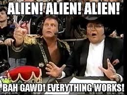 Alien Meme - alien pinball everything works fun with bonus