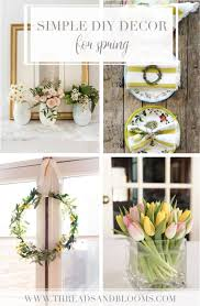 diy spring decorating ideas easter crafts spring decor ideas for your home simple diy project