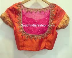 net blouse pattern 2015 net blouse designs fashion trends south india fashion