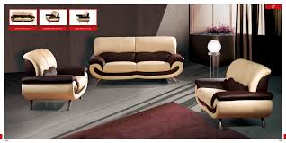 Modern Leather Living Room Furniture Living Room Furniture With Sofa And Pillow For Simple Seats