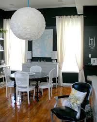 Paper Lantern Chandelier Coffee Filters Paper Lantern And Patience Kate Collins Interiors