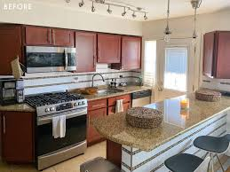 painting kitchen cabinet doors different color than frame the right way to paint your kitchen cabinets and save