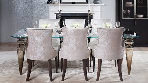 Luxury Upholstered Dining Chairs Designed And Handmade In London - Luxury dining room furniture