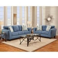 microfiber living room sets fair blue living room set home