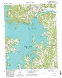 Virginia North Carolina Map by John H Kerr Dam Topographic Map Va Nc Usgs Topo Quad 36078e3
