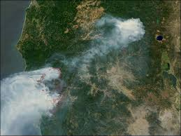 map of oregon smoke biscuit oregon from nasa s new satellite aqua image of the day