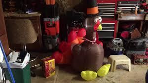 turkey inflatables gemmy 5 5ft airblown turkey