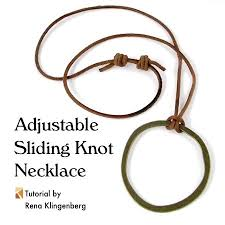 tie knot leather necklace images 791 best beading tutorials images bead jewelry jpg