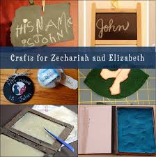 crafts for zechariah and elizabeth day 3 truth in the tinsel