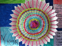paper plate weaving u0026 facebook lessons with laughter