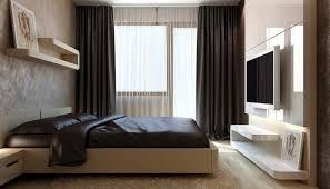 rideau chambre à coucher adulte decoration rideaux chambre adulte noirs voilages blancs literie