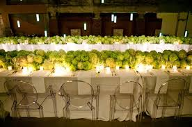 modern table settings a dramatic table setting with hydrangeas