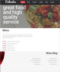 17 online food ordering u0026 delivery website templates free