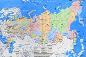 russia in maps detailed regions map of russia in russian russia europe