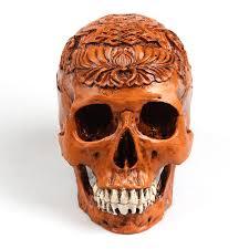 p flame egypt skull model resin handicraft vintage home decor
