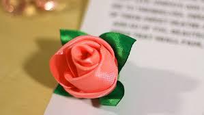 silk ribbon roses diy ribbon how to make buds out of ribbon
