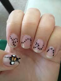 bumble bee nail art i did nails pinterest bumble bee nail art nails