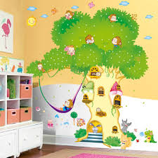 How To Decorate Nursery Classroom Tree Wall Stickers Baby Room Children S Room Nursery