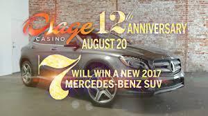 mercedes giveaway osage casino mercedes giveaway 2016