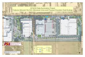 Arizona State University Map by Ericruberson Com Gis Portfolio