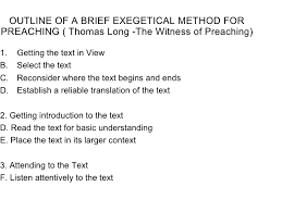 homiletics notes