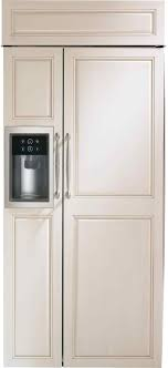 fridge that looks like cabinets pinterest rhpinterestcom fridge refrigerator custom cabinet panel
