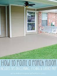 Outdoor Concrete Patio Paint Best 25 Painting Concrete Porch Ideas On Pinterest Paint