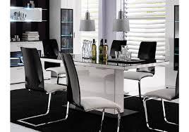 Esszimmertisch Set Esstisch Schwarz Hochglanz Haus Mobel Glas Esszimmer Tisch Sets