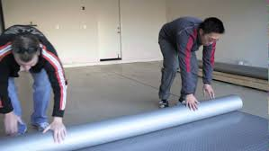 how to install garage flooring rolls rfi