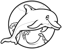 coloring graceful dolphin color sheet gceogjkoi coloring