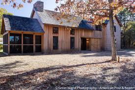 Modern Barn House Plans Modern Post And Beam House Plans T00232 Bayberr Hahnow