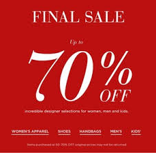 up to 70 sale saks fifth avenue dealmoon