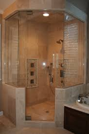 bed bath glass shower enclosure with tile for neo angle fully