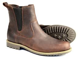 womens dealer boots uk cotswold brown chelsea boot with rubber sole