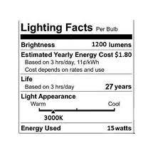 1200 lumen led bulb ebay