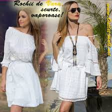rochii de vara poarta rochii de vara scurte cat mai vaporoase albe sau in culori