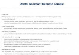 Sample Dental Resume by 5 Best Dental Assistant Resume