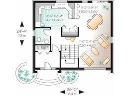 art deco floor plans eplans contemporary modern house plan beautiful brick cottage with