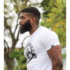 hoods haircutgame bearded black man hebrew beard pinteres