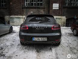 Porsche Macan Matte Black - porsche 95b macan turbo 10 january 2015 autogespot