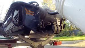 how to antifreeze exhaust flush for sea doo youtube