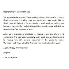 quotation mail format to customer thank you letter to client for giving business images letter