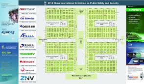 floor plan map of security china 2014
