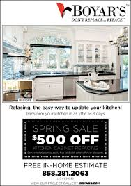 refinishing kitchen cabinets san diego refacing the easy way to update your kitchen boyar s